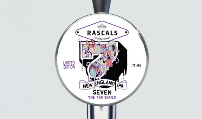 Rascals Craft Brewing 7 new england IPA