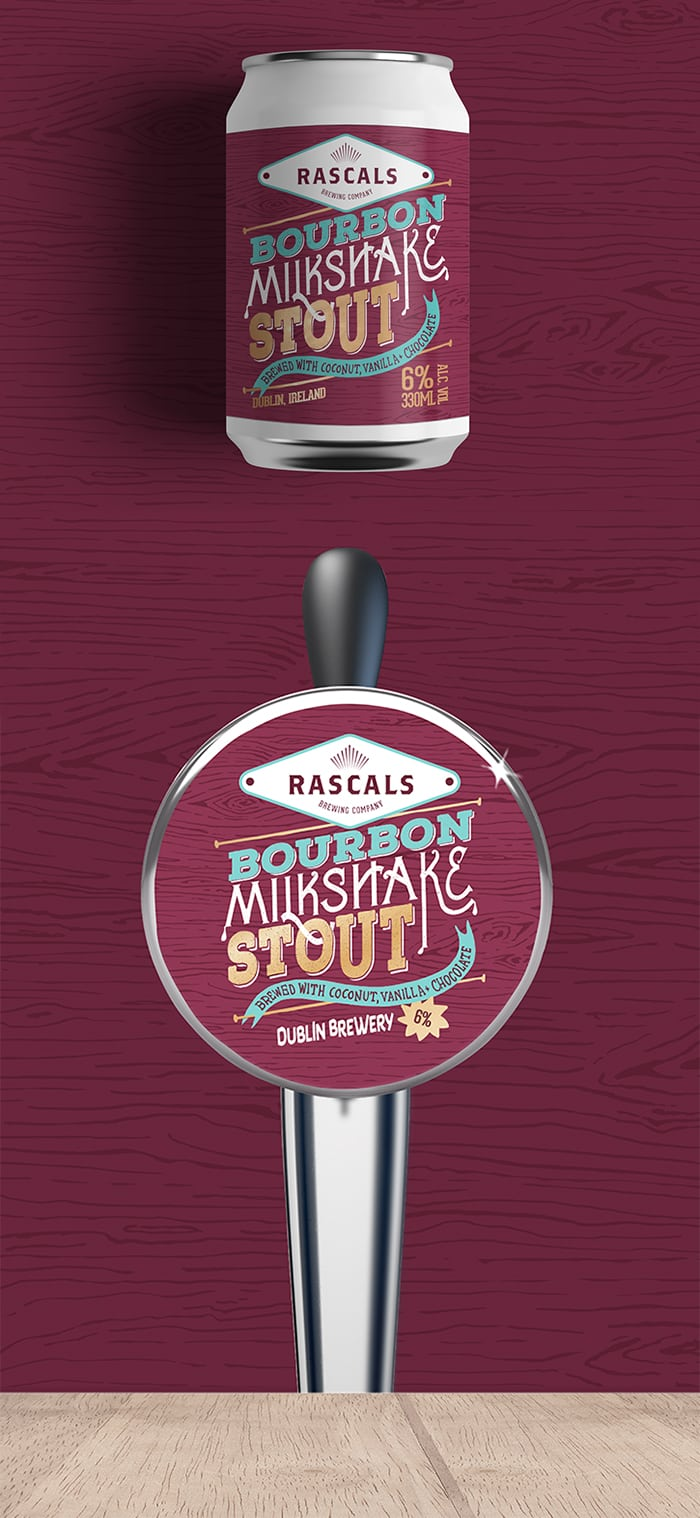 Rascals Craft Brewing Bourbon Milkshake Stout Tasting Notes