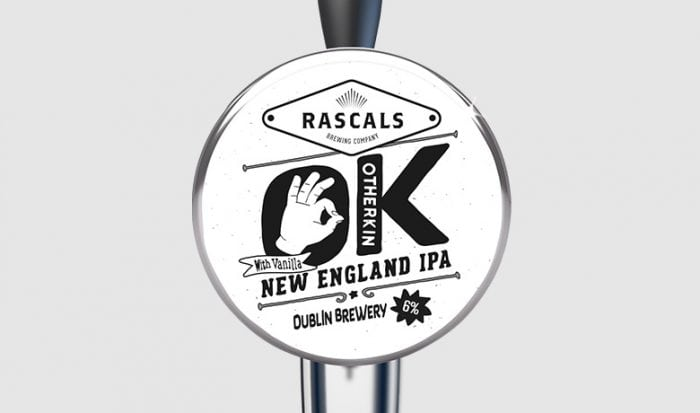 Rascals Craft Brewing Otherkin new england ipa