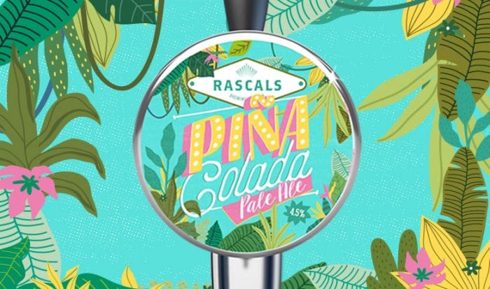 Rascals Craft Brewing Pina colada pale ale